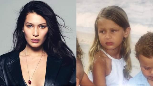Модель Белла Хадид показала, как выглядела в детстве: забавные фото