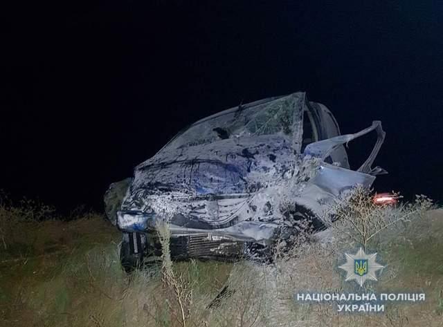 На автодороге «Борисполь-Днепр» столкнулись пять автомобилей: три человека погибли