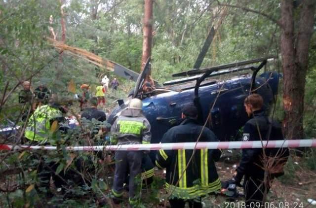 Авиакатастрофа на Трухановом острове в Киеве: детали от очевидцев