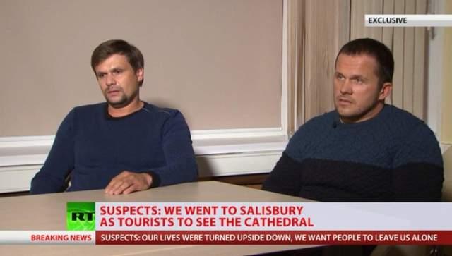 Отравление Скрипалей: в Британии резко отреагировали на резонансное интервью подозреваемых