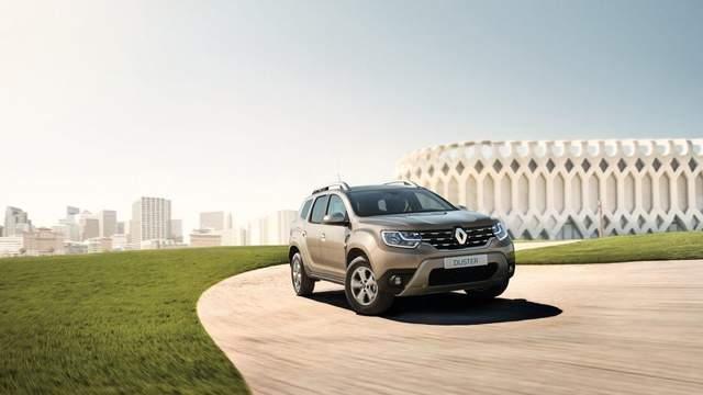 Новые версии Renault Duster появились в Украине