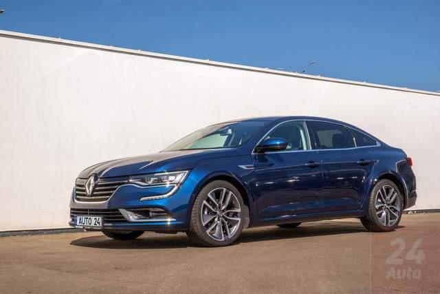 Renault Talisman: тест-драйв за 24 параметрами