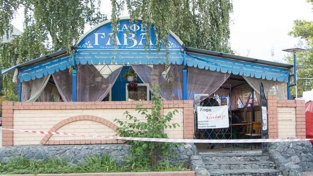 Пьяная компания устроила стрельбу возле кафе в Днепре, есть пострадавшие