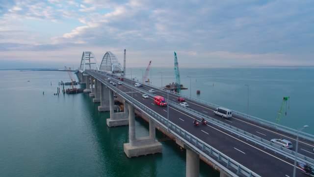 Крымский мост частично обрушился: какова причина, свежие фото и видео