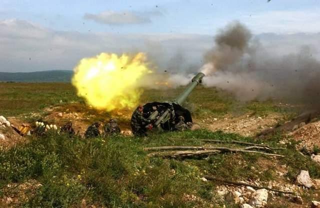 Боевики ударили из запрещенного оружия по украинским военным на Донбассе: есть раненые