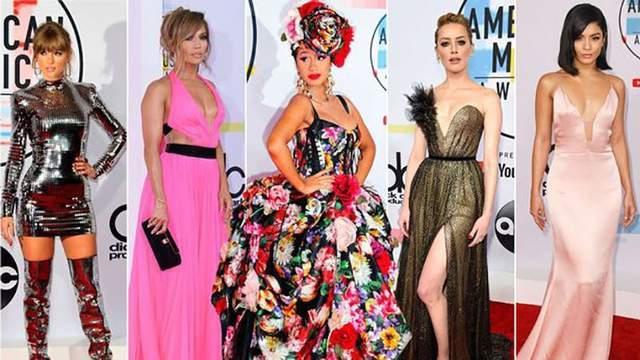 American Music Awards 2018: яркие фото с красной дорожки
