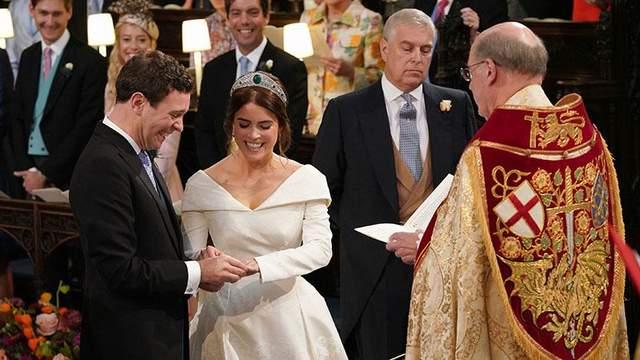 Свадьба принцессы Евгении и Джека Бруксбенка: яркие фото церемонии