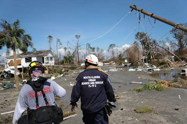 Ураган «Майкл» полностью разрушил военную базу в США: жуткие кадры