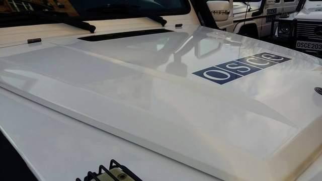 ОБСЕ зафиксировала грузовики с оружием на оккупированном Донбассе