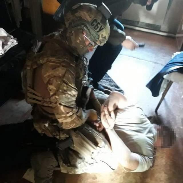 СБУ задержала боевика, который прятался на подконтрольной Украине территории: фото