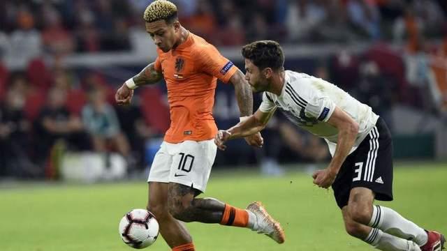 Главные новости футбола 13 октября: Нидерланды разгромили Германию, победа Чехии над Словакией в пользу Украины