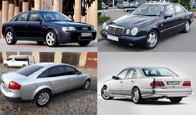 Битва «евроблях»: Audi A6 против Mercedes-Benz E-класс