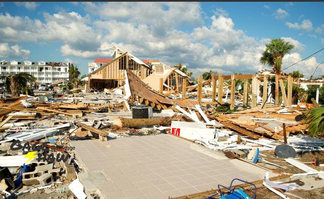«Я потерял все»: в США пострадавшие приходят в себя от мощного урагана «Майкл»