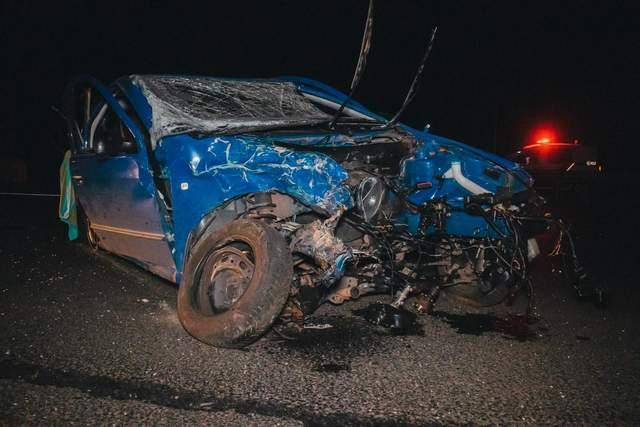 Украинские футболисты попали в аварию под Киевом, есть пострадавшие: фото