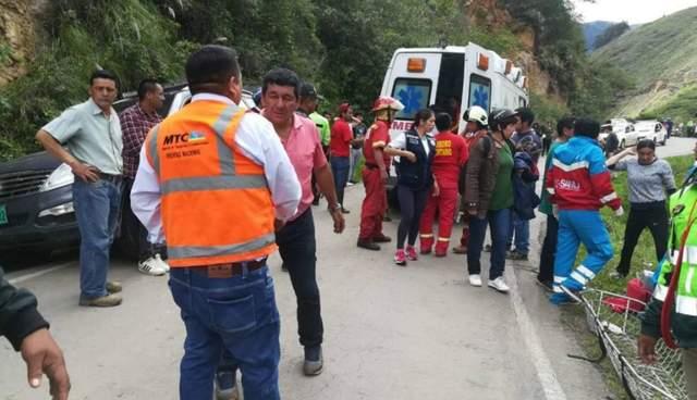 В Перу автобус с детской футбольной командой сорвался в пропасть – есть жертвы (ВИДЕО)