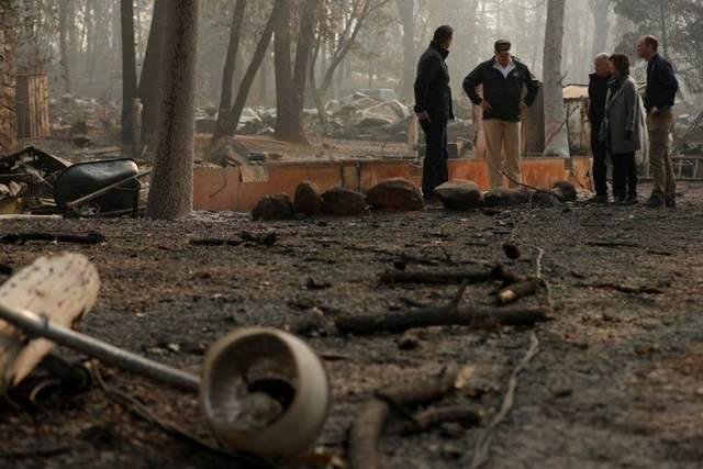 Количество жертв и пропавших без вести в результате пожаров в Калифорнии стремительно выросли