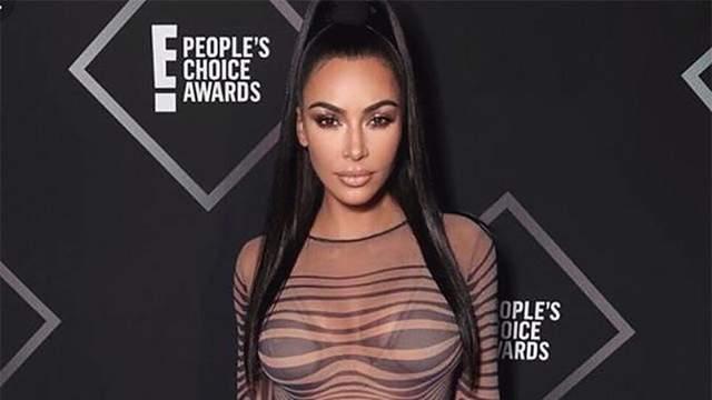 Ким Кардашян рассказала, как Канье Уэст реагирует на ее сексуальные фото