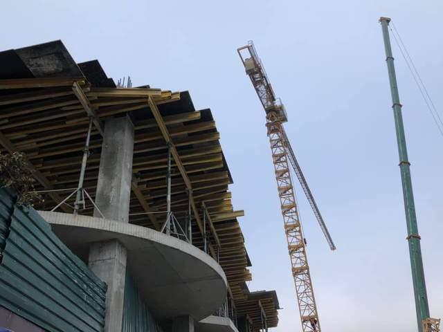 Что происходит на месте скандального строительства на Андреевском спуске