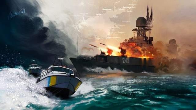 Обстрел Россией кораблей ВМС ВСУ в Азове: ФСБ опубликовала видео допроса украинских моряков
