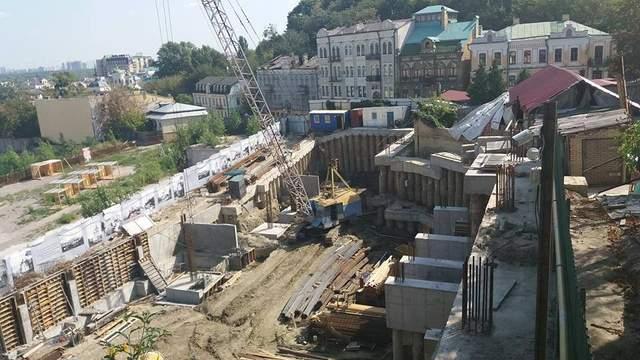 Скандальное строительство на Андреевском: у Кличко заговорили об отмене договора с застройщиком