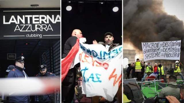 Главные новости 8 декабря: трагедия в Италии, сорванный концерт русских и протесты в Париже