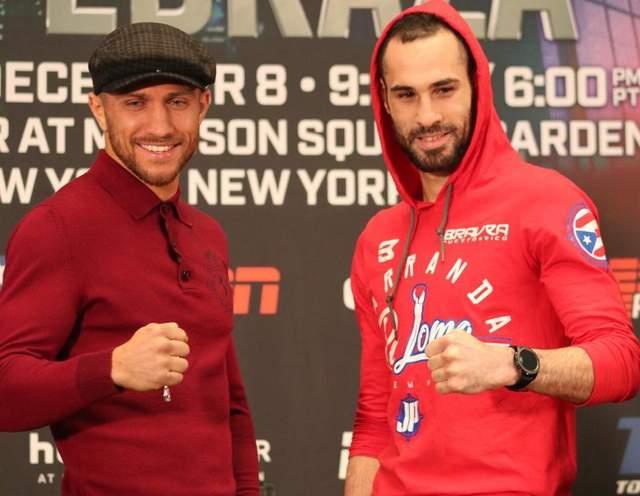 «Я голоден к бою и готов вернуться на ринг»: Ломаченко встретился с Педрасой