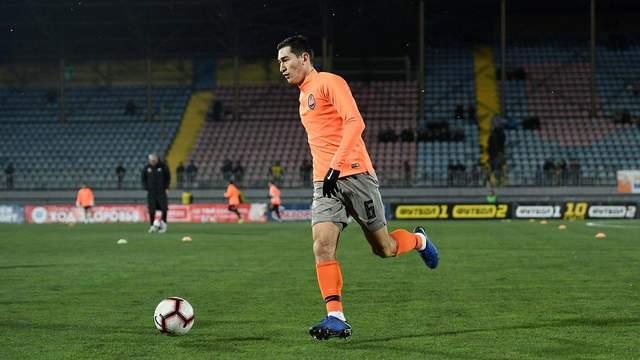 Степаненко забил невероятный гол ударом через себя в ворота Мариуполя