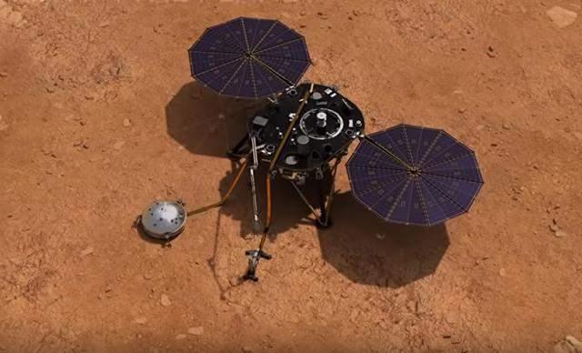 В NASA впервые опубликовали запись шума ветра на Марсе