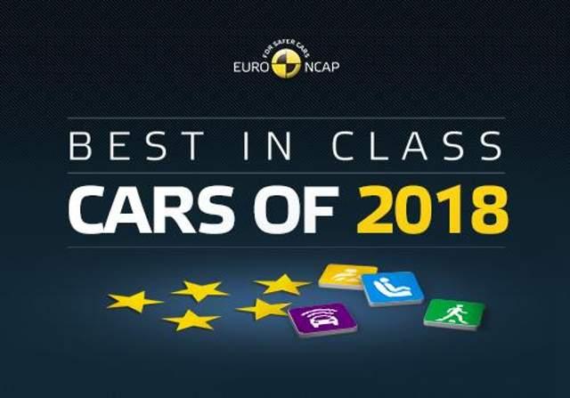 EuroNCAP назвала самые безопасные автомобили 2018 года