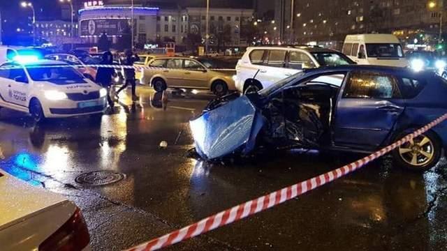 Смертельное ДТП в Киеве: водителю Audi объявлено подозрение – видео 18+
