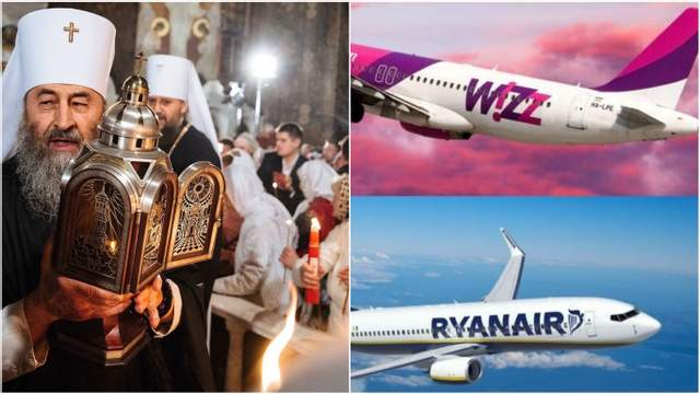 Главные новости 1 февраля:  переименование УПЦ МП и новые рейсы лоукостов в Украину