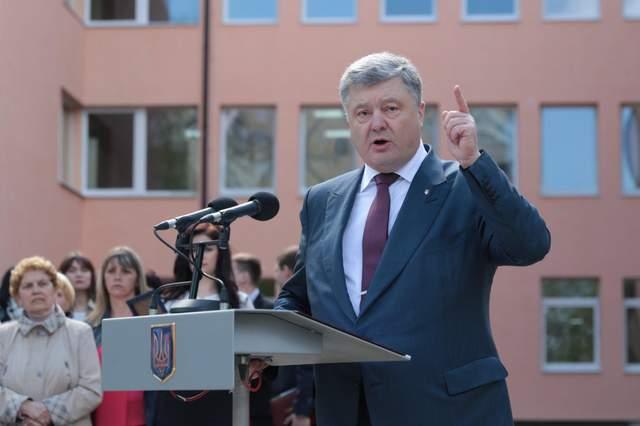 Порошенко утвердил границы и перечень оккупированных населенных пунктов на Донбассе