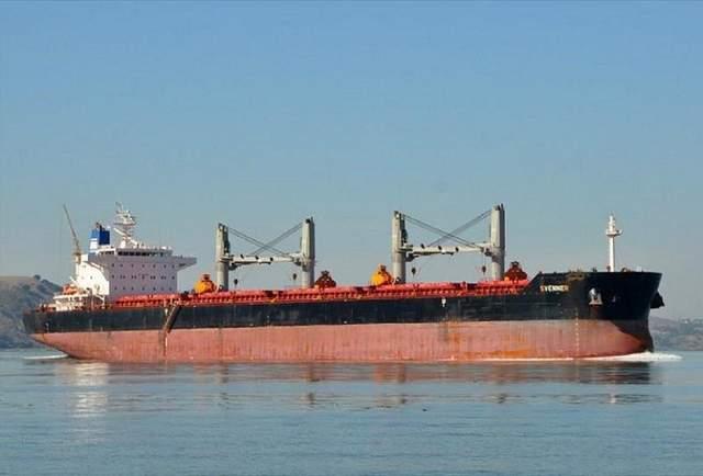 В морском порту «Черноморск» Госэкоинспекция в очередной раз удерживает судно