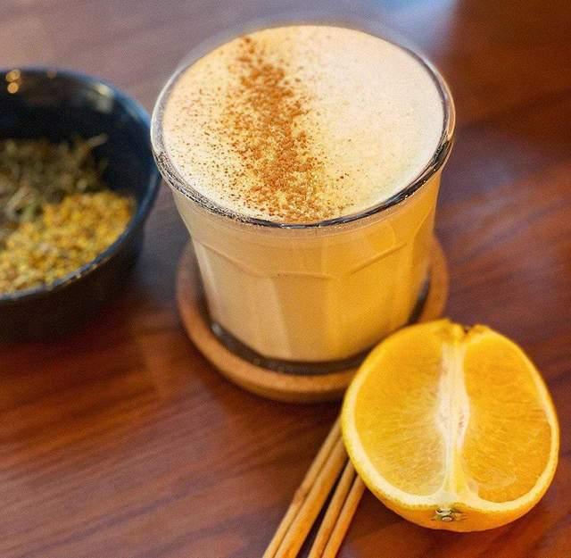 Кава з апельсиновим соком