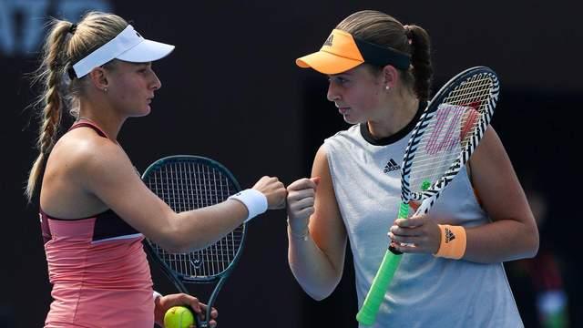 Ястремская в паре с Остапенко сенсационно вышла в полуфинал на соревнованиях в Пекине