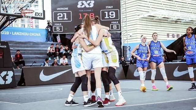 Женская сборная Украины U-23 выиграла вторую подряд игру на чемпионате мира по баскетболу 3х3