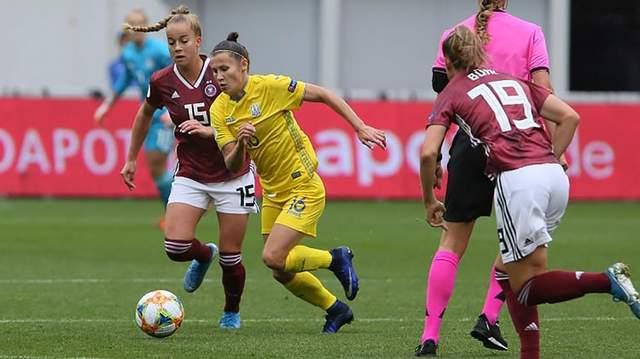 Сборная Украины пропустила 8 голов от немок в рамках квалификации Евро-2021