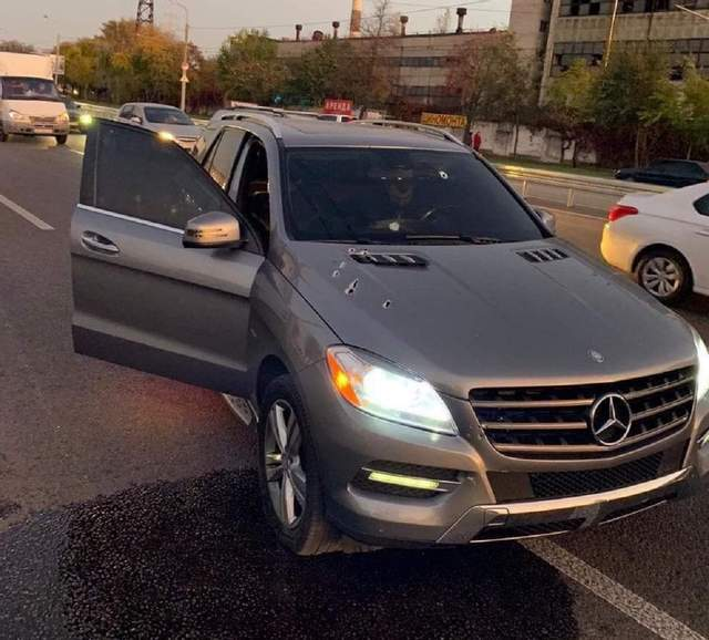В Днепре из ружья расстреляли Mercedes: погиб Армен Багдасарян – фото, видео