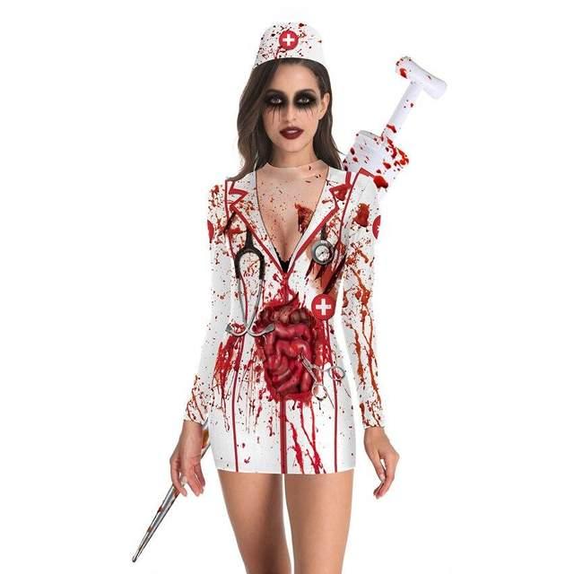 Образ кривавої медсестри ідеально підходить для святкування Геловіна