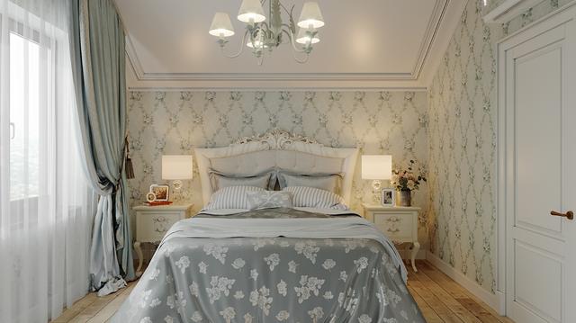 Ліжко є важливим елементом в інтер'єрі Прованс