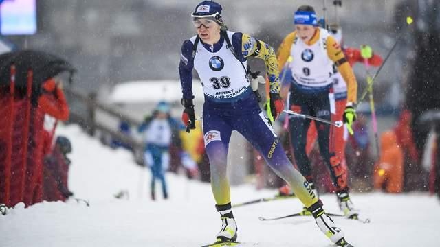 Чемпіонат світу з біатлону 2020: Підгрушна фінішувала 4-ю, Семеренко – 11-а