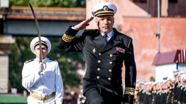 Адмирал Воронченко уходит в отставку с поста командующего ВМС Украины, — СМИ