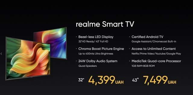 Realme Smart TV.