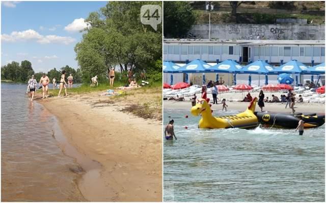 Без масок і дистанції: пляжі Одеси та Києва переповнені людьми – фото, відео