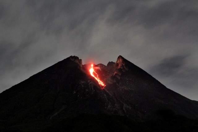 виверження вулкану Мерапі