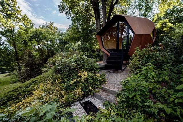 Как почищенная картофелина: проект удивительного домика для работы из дома – фото