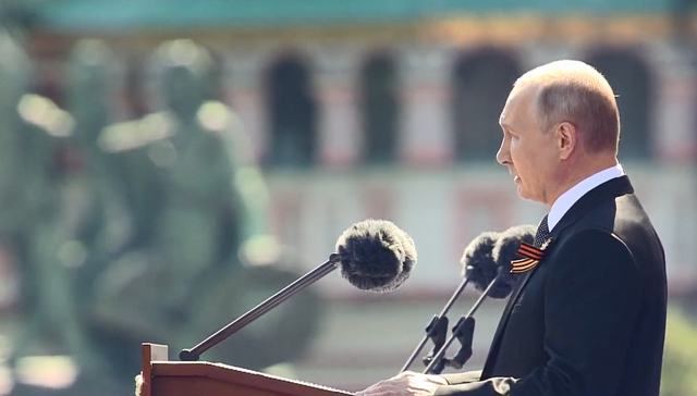 Путін на параді