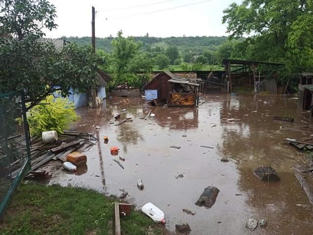 Ананьєв Перший на Одещині затопило