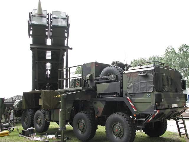 зенітний ракетний комплекс США