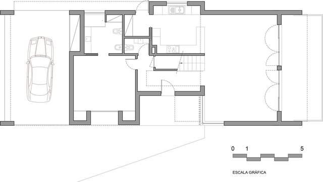 Проєкт будинку багатогранника / Фото Archdaily